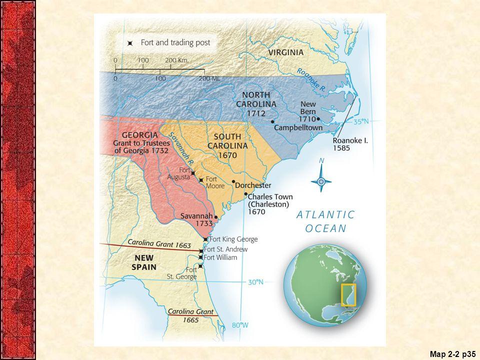 Map 2-2 p35