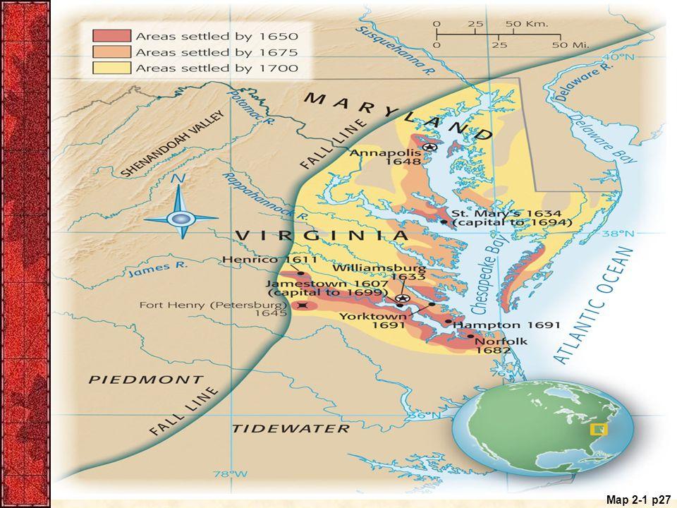 Map 2-1 p27