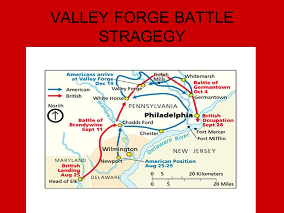 VALLEY FORGE BATTLE STRAGEGY