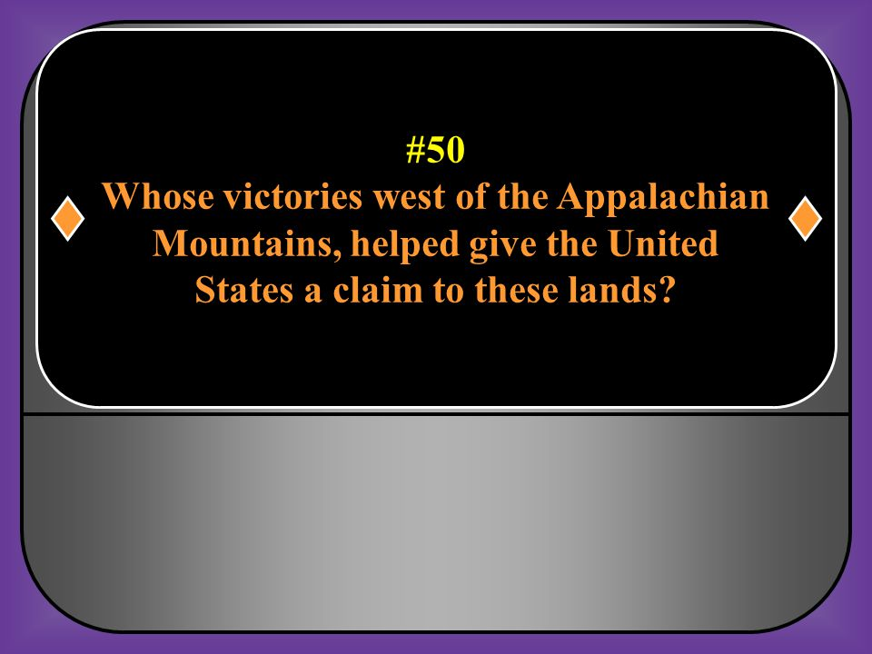 #49 Who was the American that had the most influence in getting France's help in the war effort? Benjamin Franklin