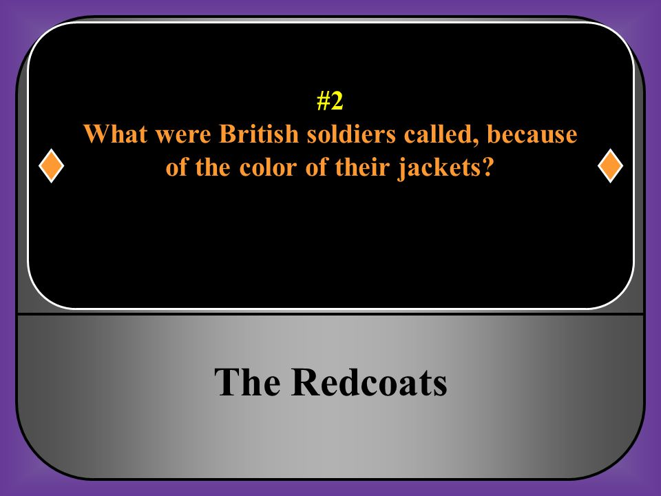#32 What was the main reason that the colonists felt Great Britain had no right to tax them.