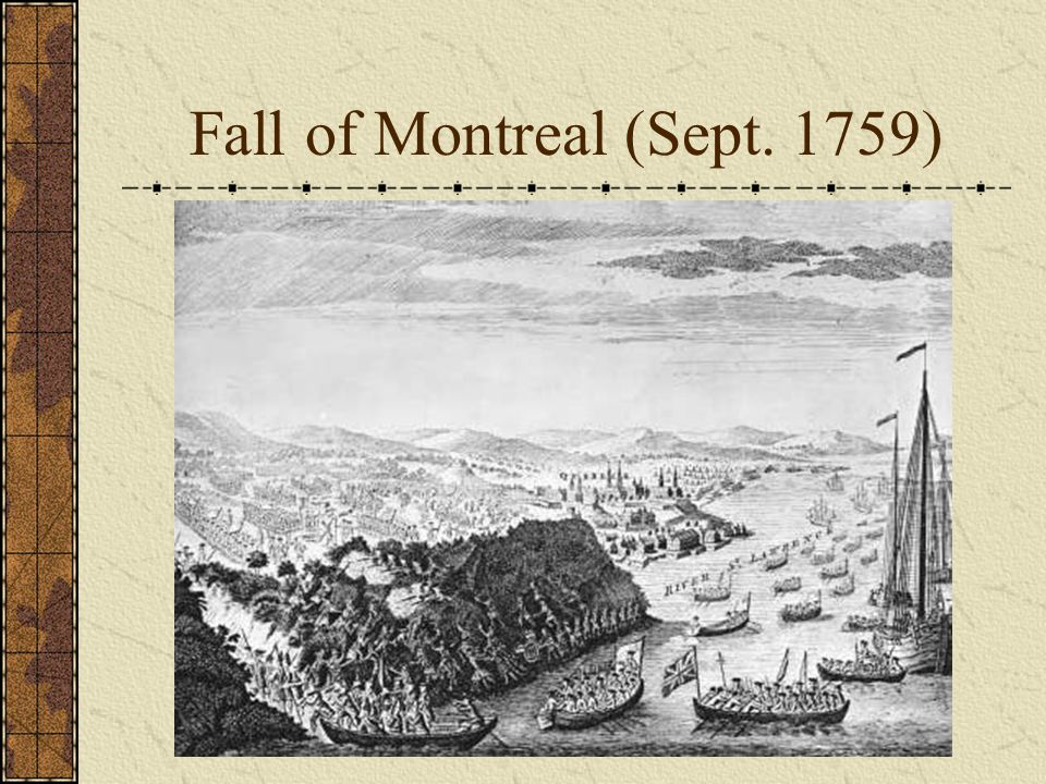 Fall of Montreal (Sept. 1759)