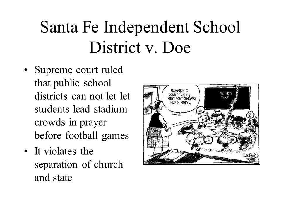 Santa Fe Independent School District v.