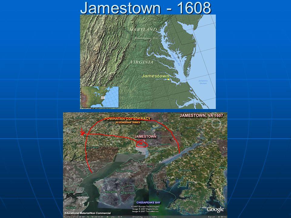 Jamestown - 1608