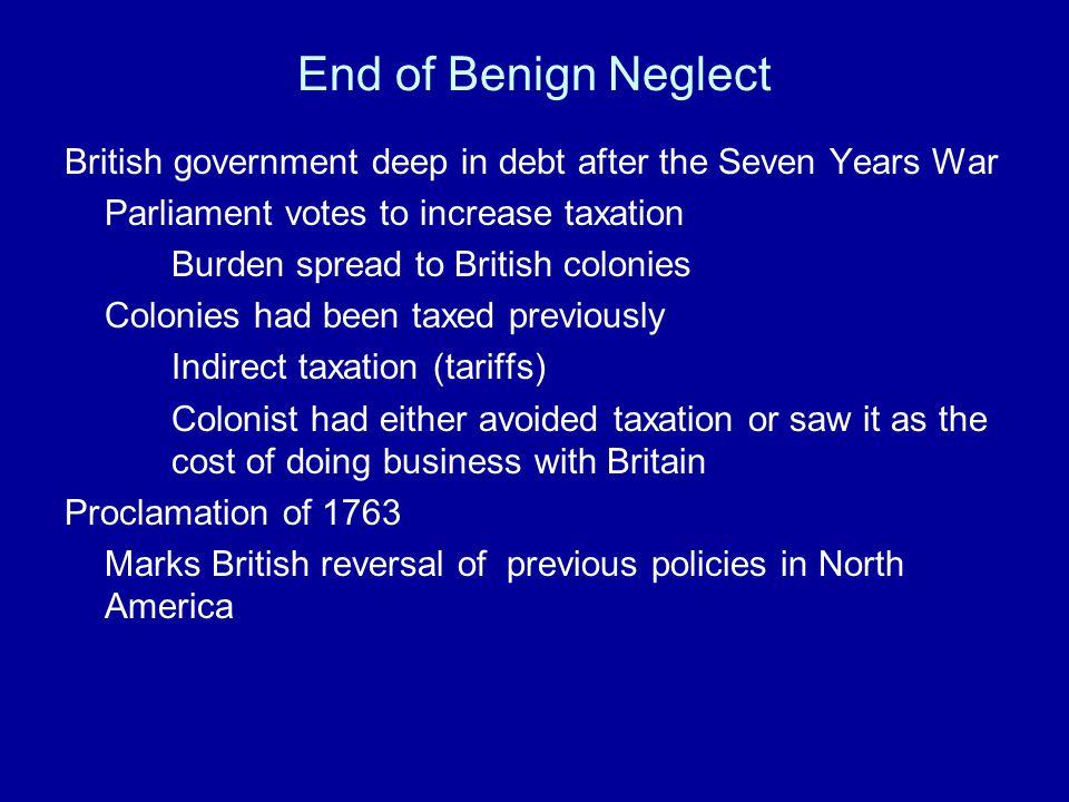 Civil War in the Colonies 1763-1781