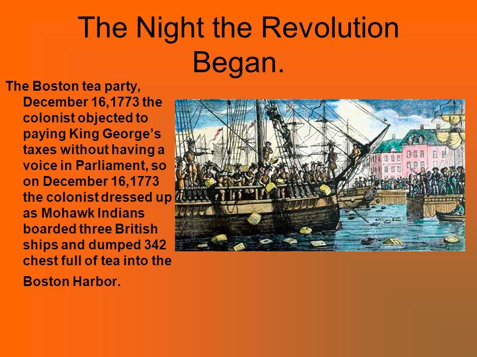 The Night the Revolution Began.