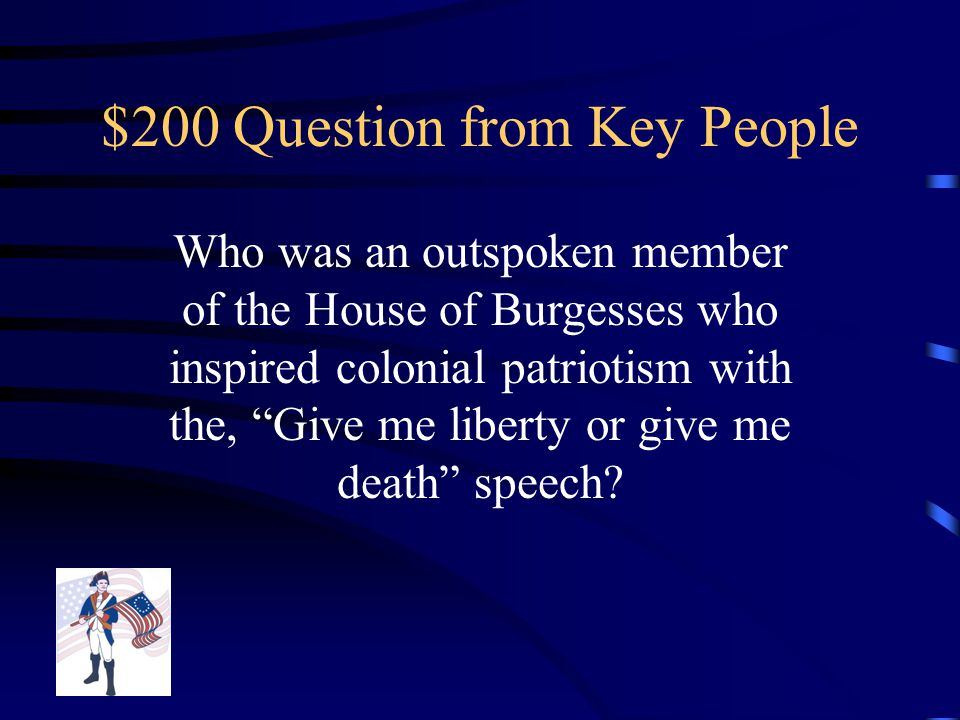 $100 Answer from Key People Thomas Paine