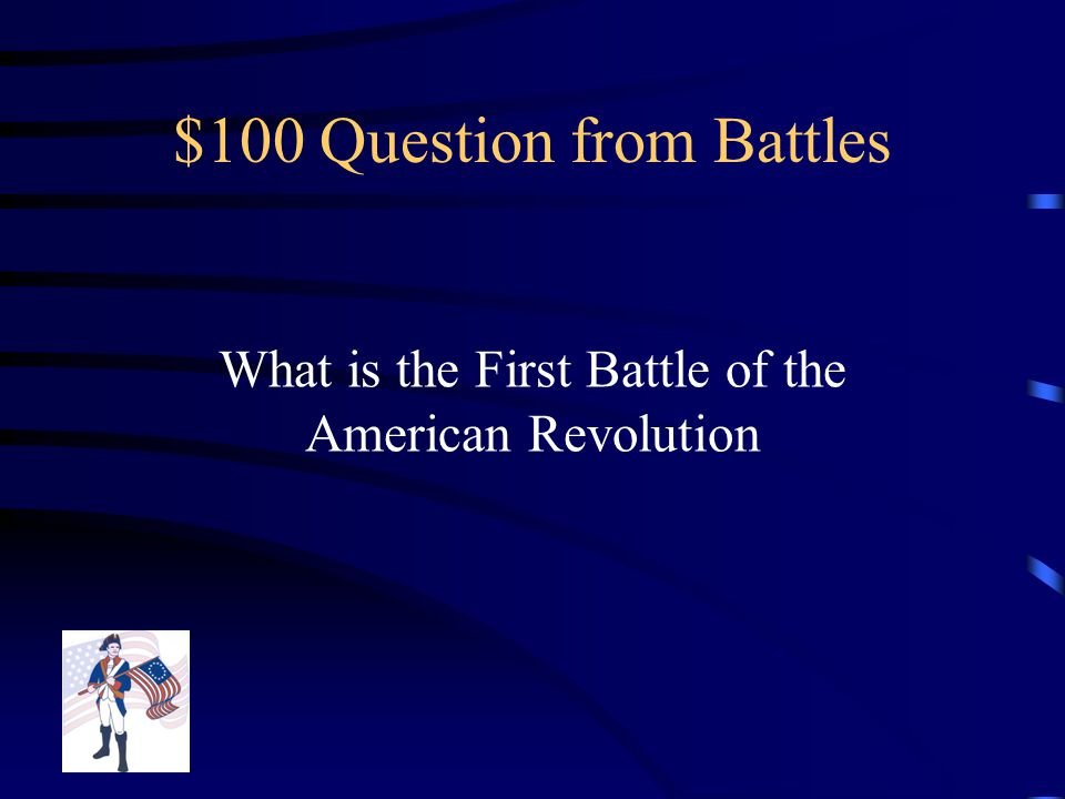$500 Answer from Key People Lord Cornwallis