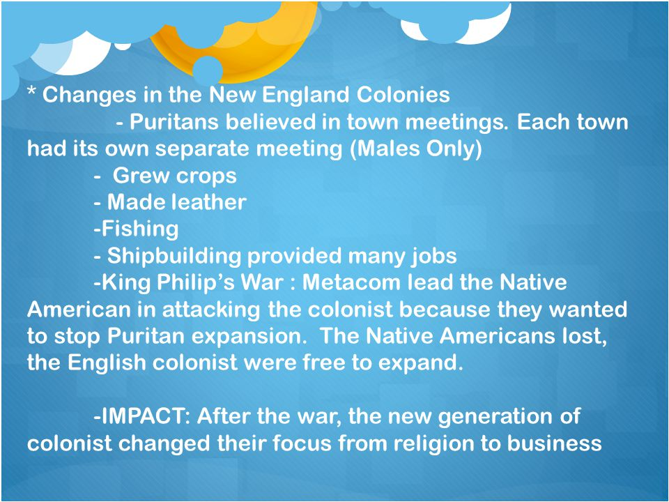 3.3-The Middle Colonies *Geography and Climate - New York - New Jersey - Delaware - Pennsylvania - Climate is warm -Soil is fertile for farming.