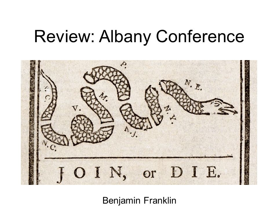 Review: Albany Conference Benjamin Franklin