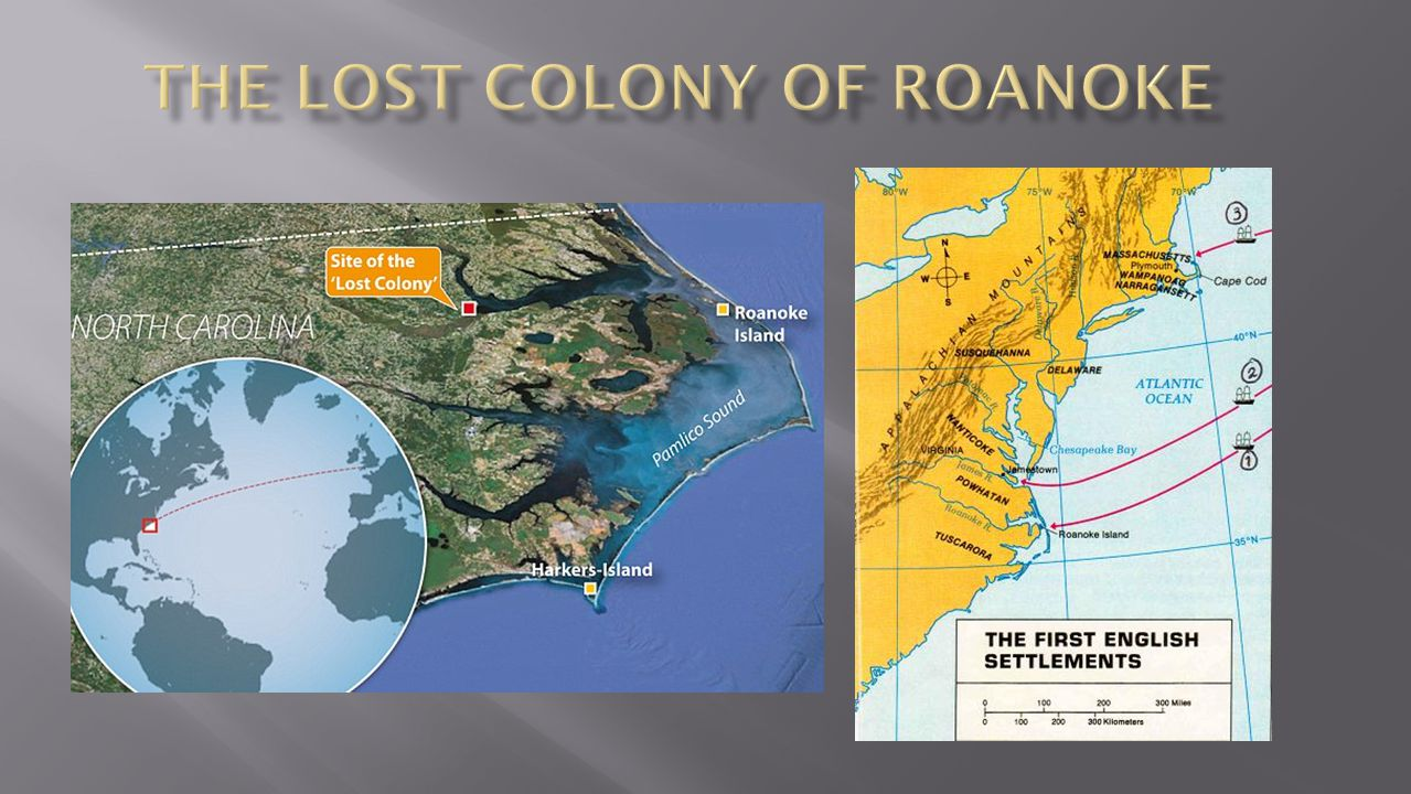 England watched as their rival Spain established vast new colonies in the Americas In the late 1500's, England began establishing colonies also Roanoke was England's 1 st attempt