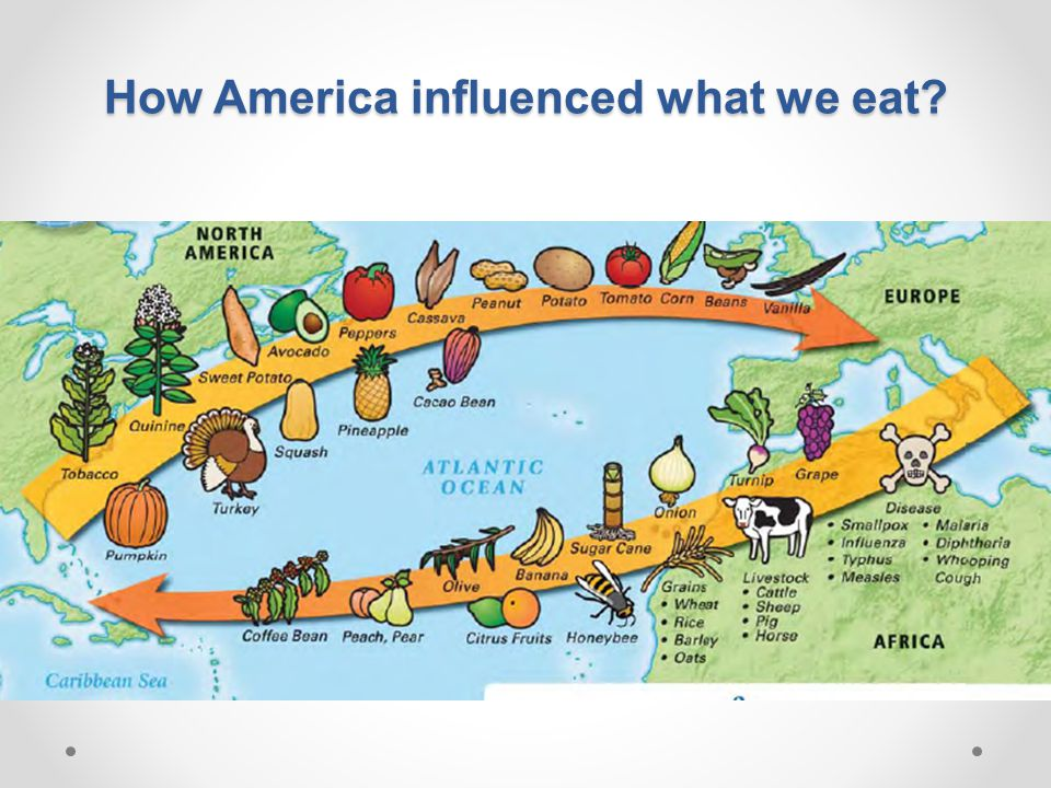 How America influenced what we eat?