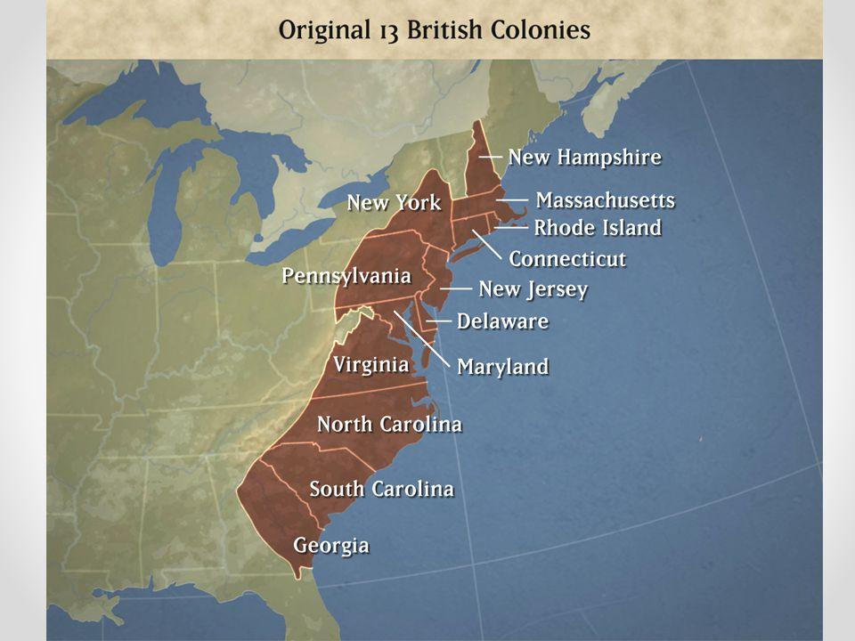 13 English Colonies