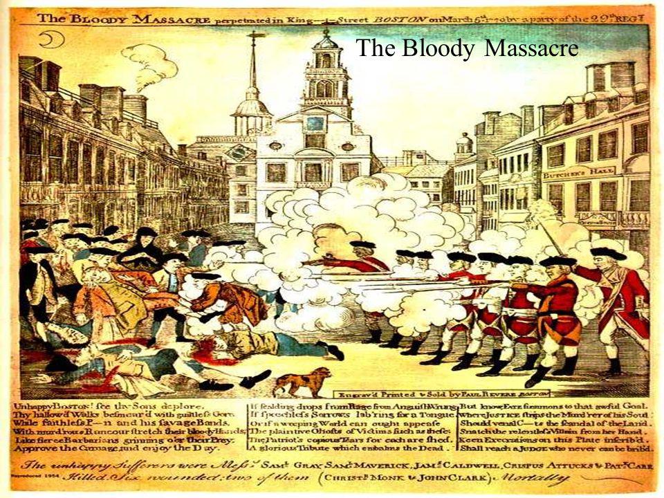The Bloody Massacre