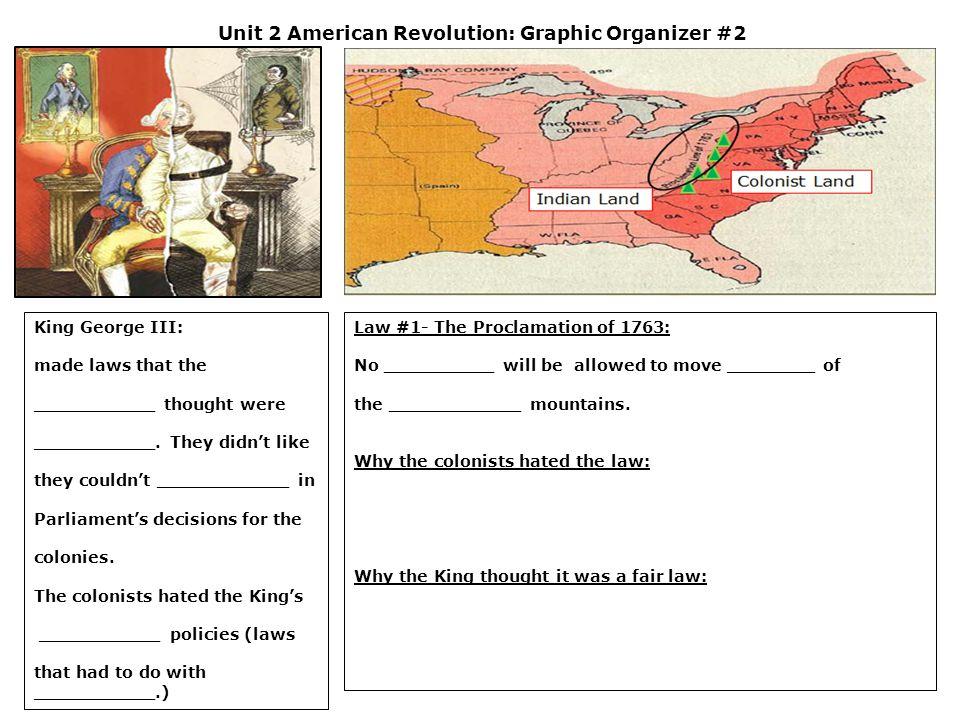 Unit 2 American Revolution: Graphic Organizer #13 Battle of New York: The ________________ battle of the American Revolution.