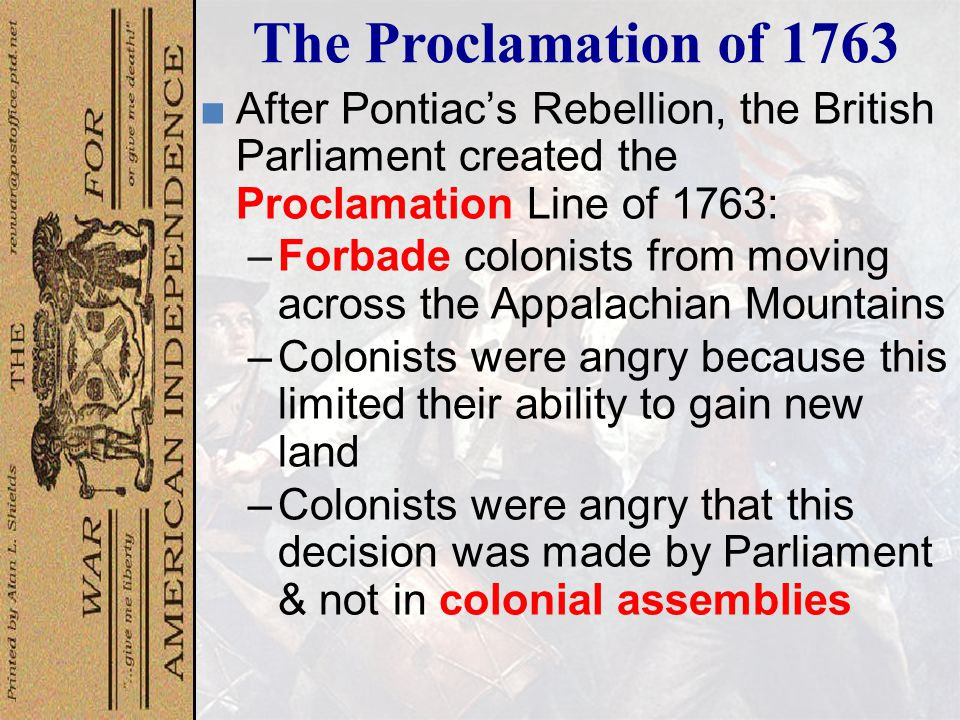 Pontiac ' s Rebellion, 1763