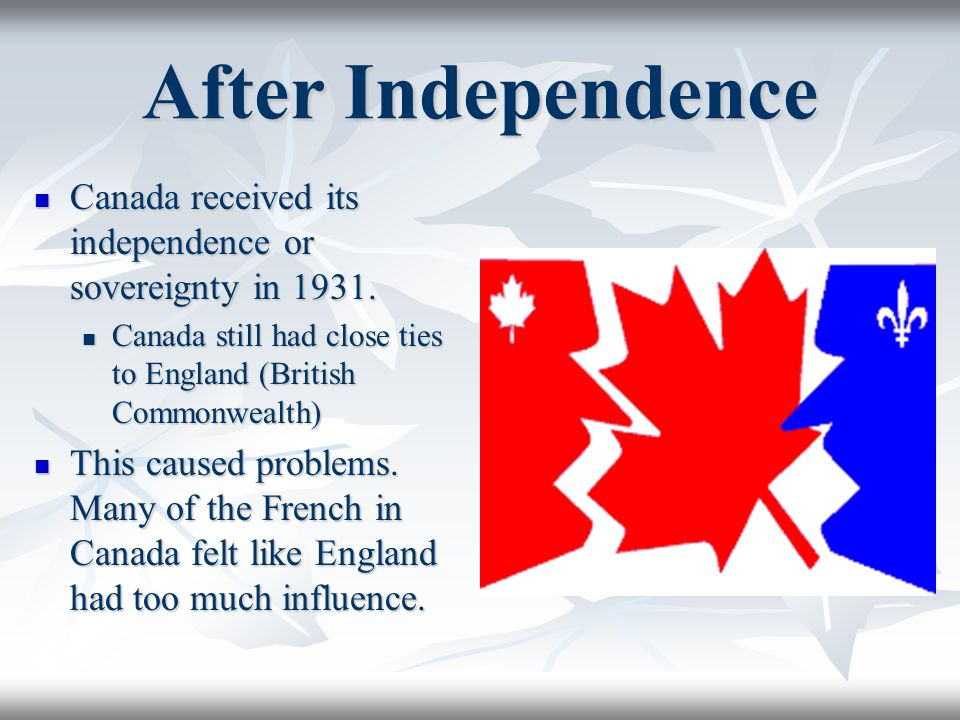Essential Question What is the Quebec Independence Movement and how has it affected Canada.