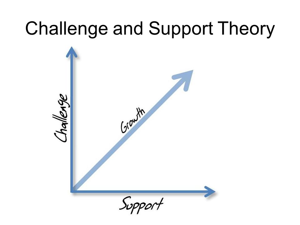 Challenge and Support Theory