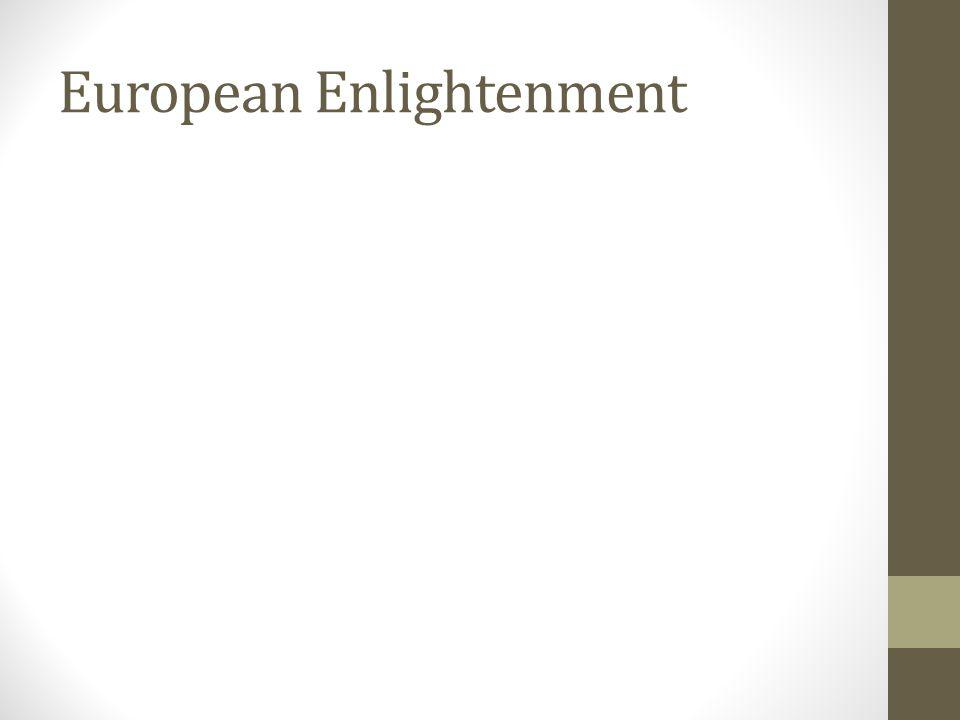 European Enlightenment