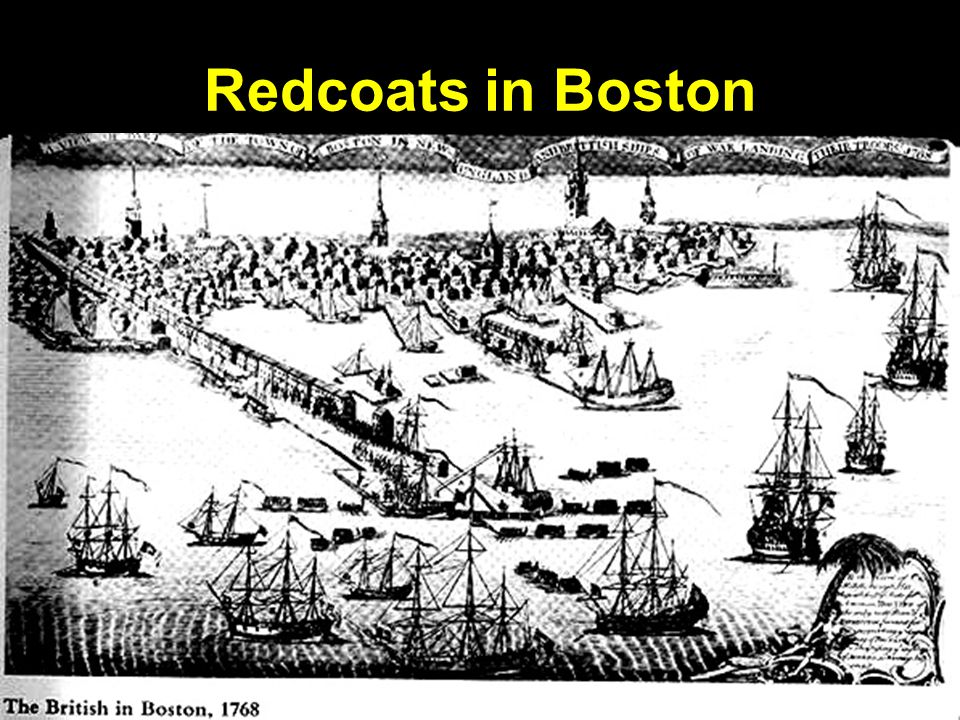 Redcoats in Boston