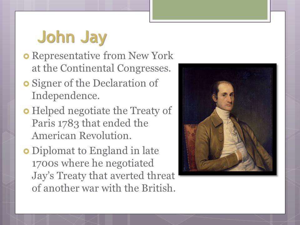 John Hancock  Representative from Massachusetts. President of the Continental Congress in 1775.