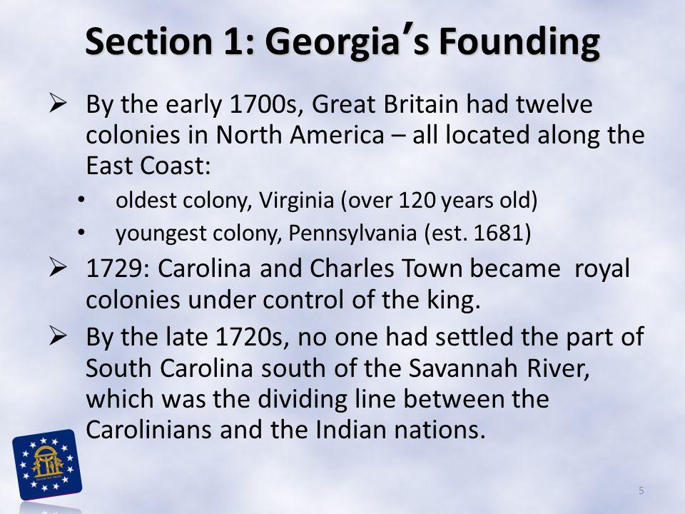 Georgia Time Line 1732-1752 6
