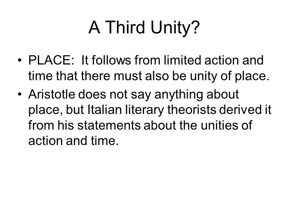 A Third Unity.