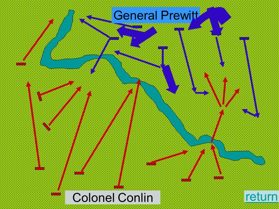 General Prewitt Colonel Conlin return