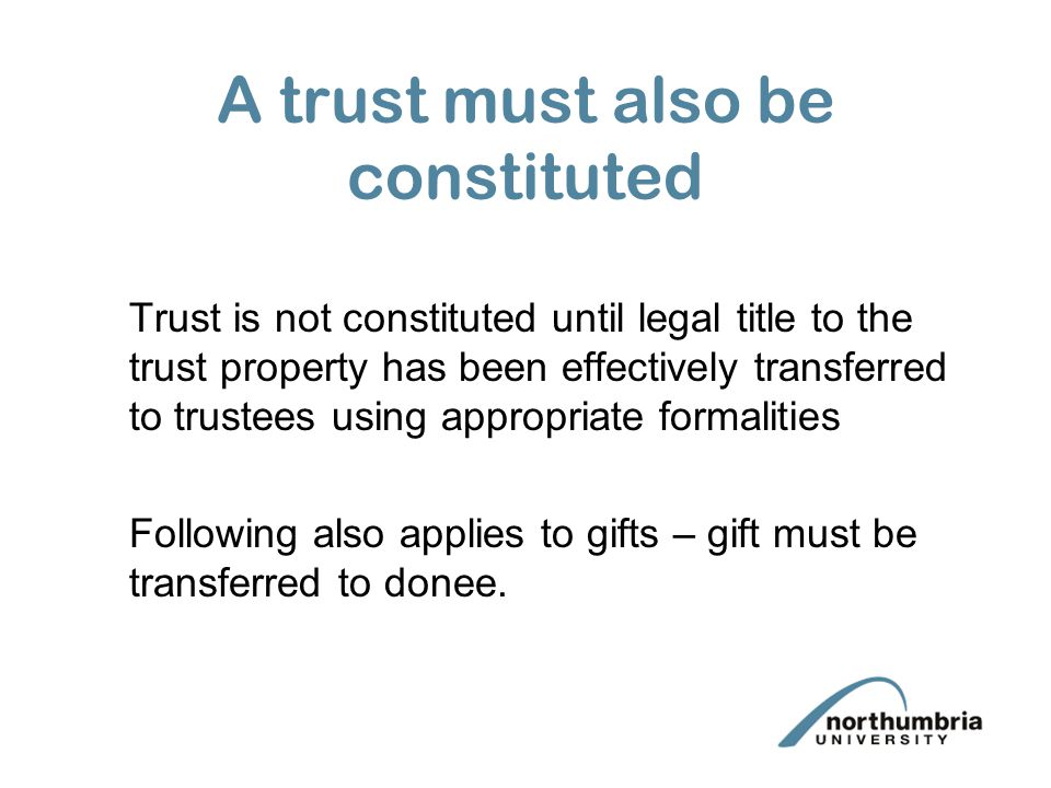 Contracts (Rights of Third Parties) Act 1999 Remedy is damages Open to question whether under S1(5) this means specific Trusts of the promise