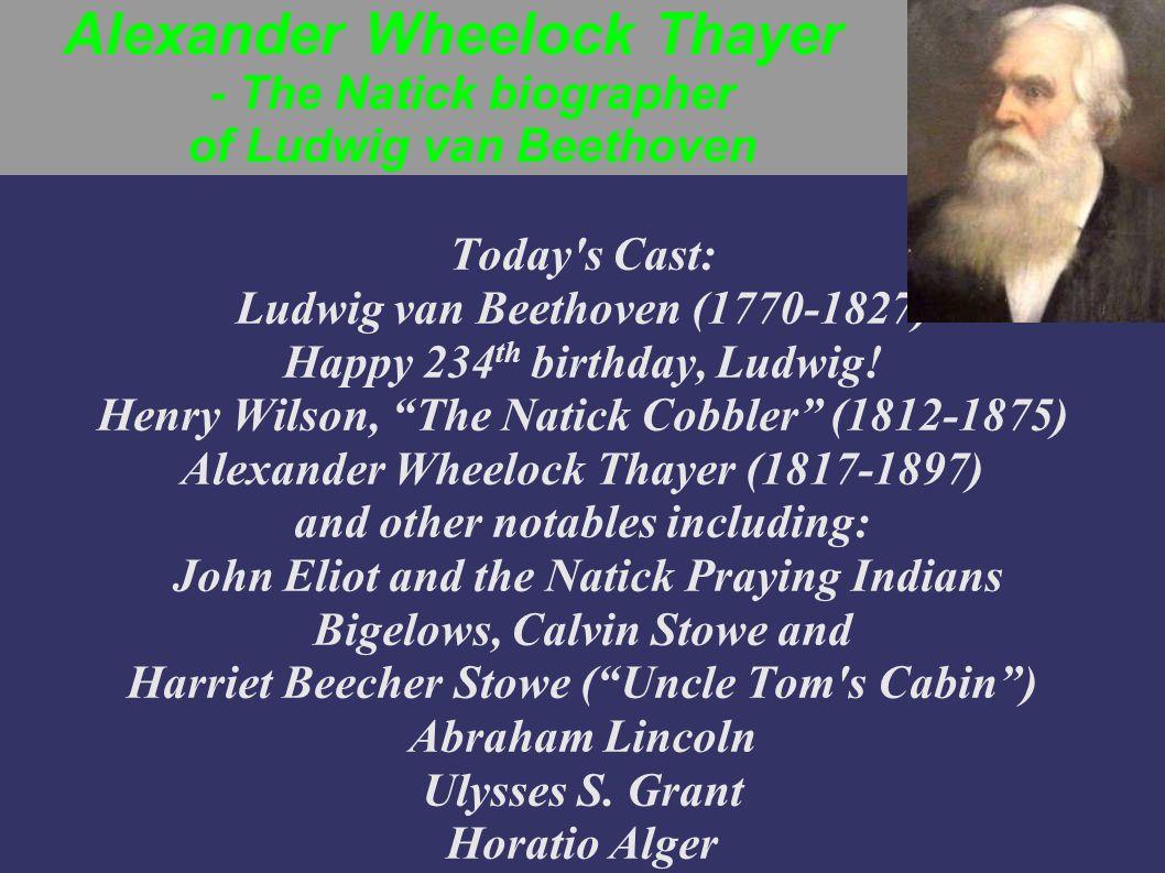 Henry Wilson, The Natick Cobbler - U.S.