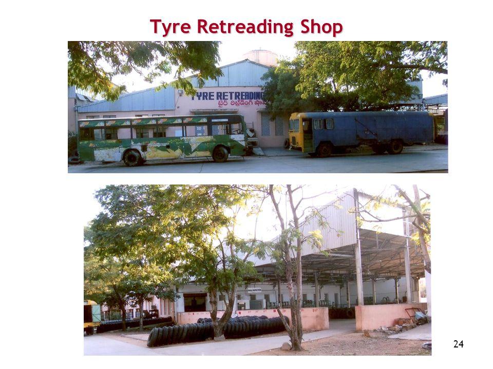 24 Tyre Retreading Shop