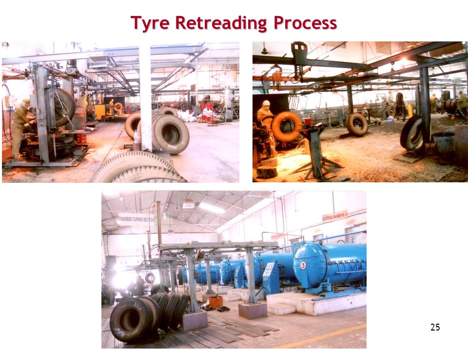 25 Tyre Retreading Process