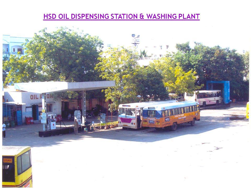 9 HSD OIL DISPENSING STATION & WASHING PLANT