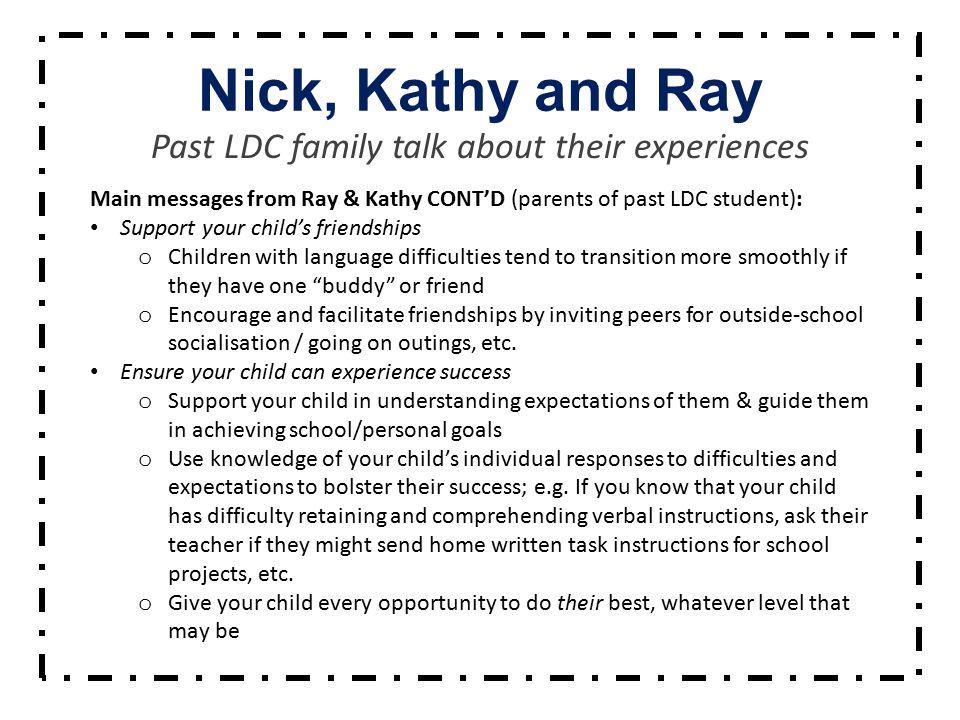 Thank You North East Metropolitan LDC Outreach Service