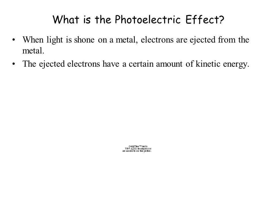 What is the Photoelectric Effect.