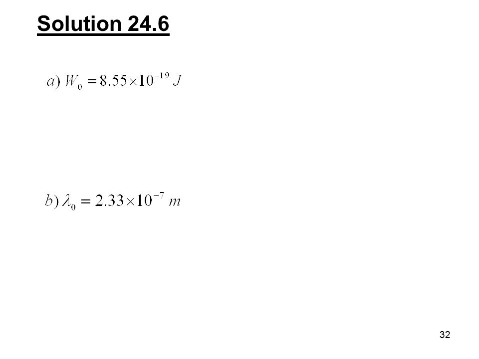 32 Solution 24.6