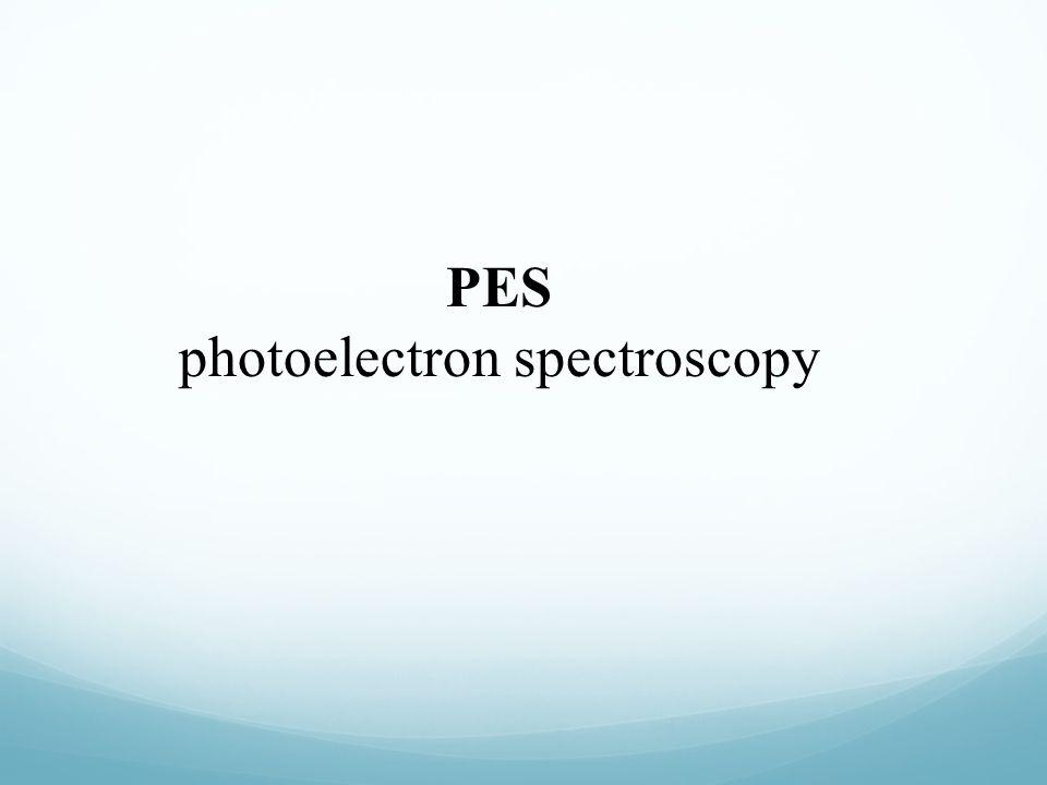 PES photoelectron spectroscopy