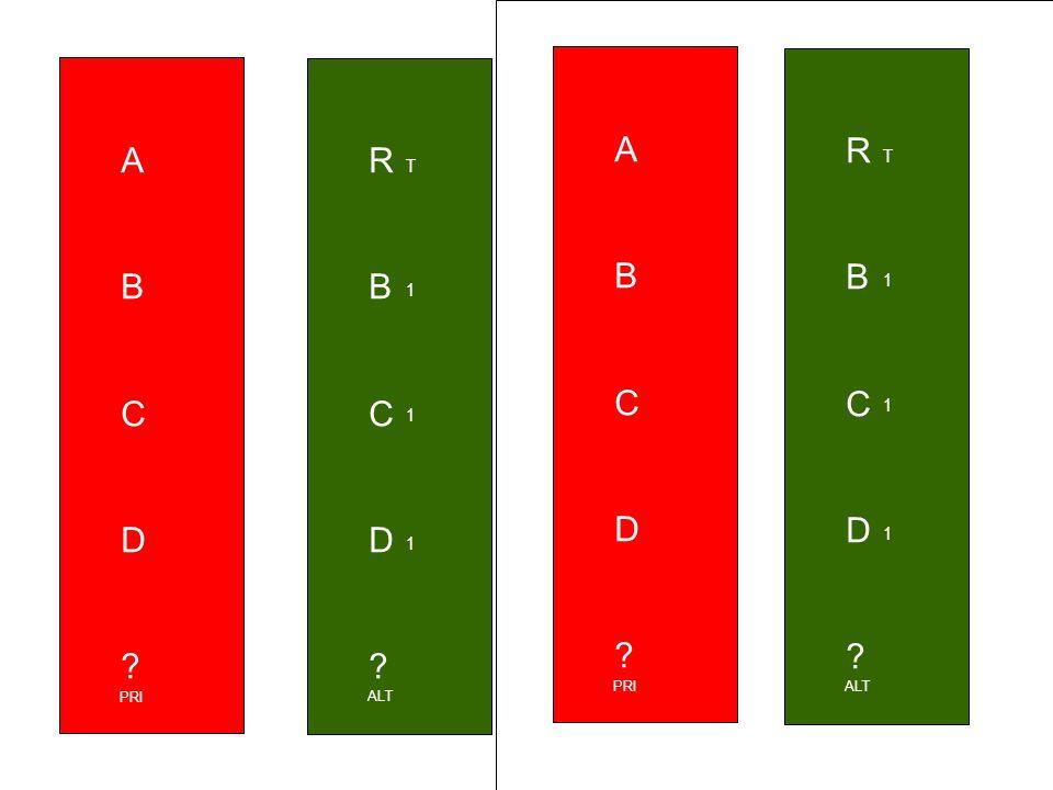 RBCD RBCD T 1 1 1 ALT ABCD ABCD PRI ABCD ABCD PRI RBCD RBCD T 1 1 1 ALT