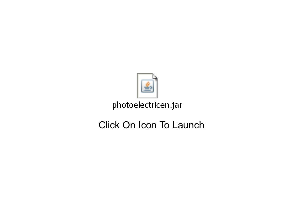 Click On Icon To Launch