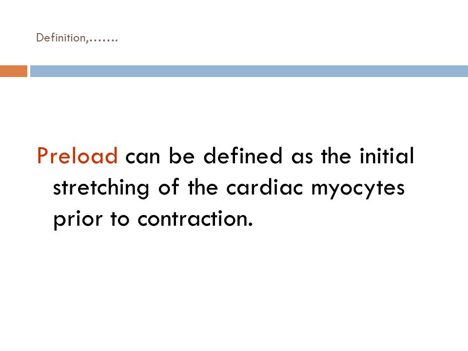 Factors determining CO  Preload (VR)  Afterload (Aortic pressure)