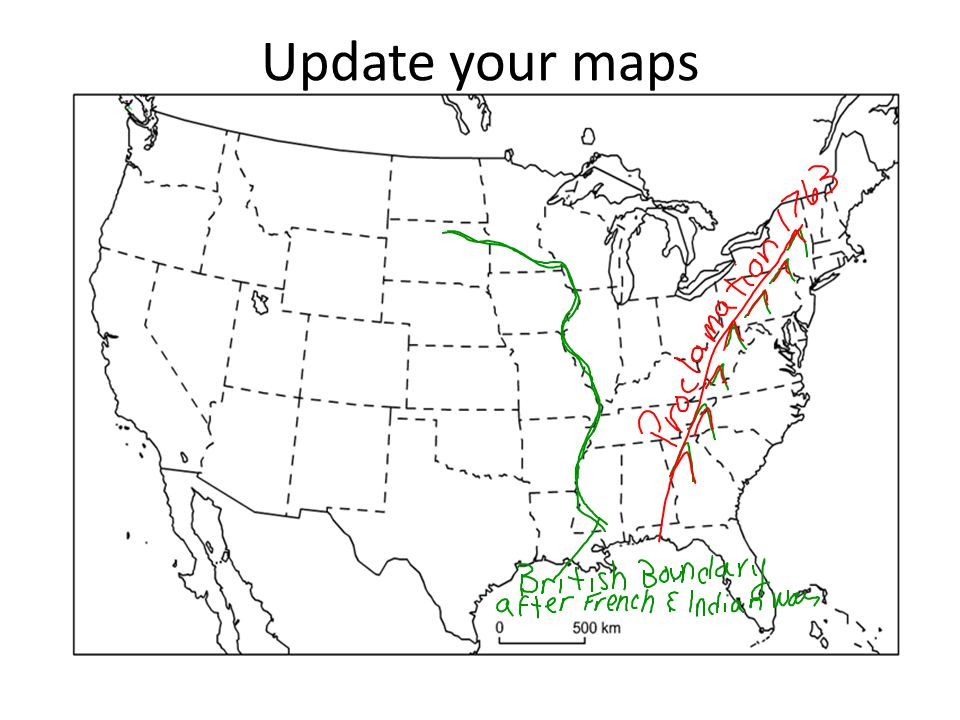 Update your maps