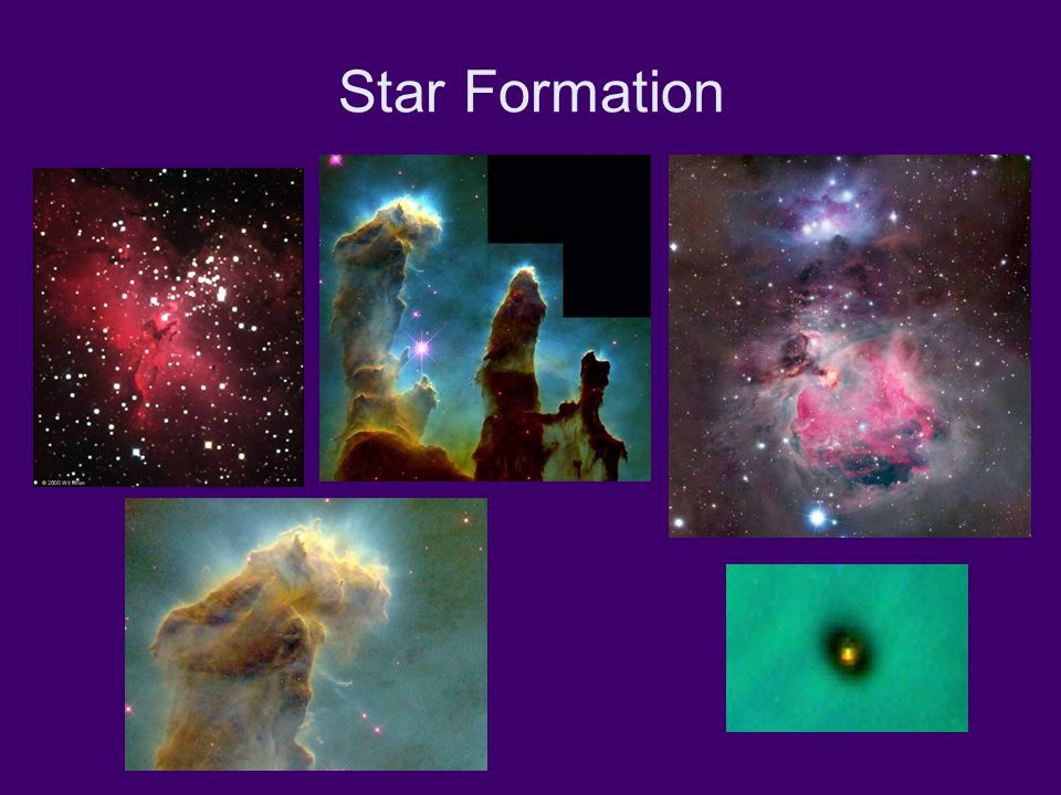Fusion of Hydrogen into Helium 4 1 H (protons) 4 He This reaction powers all main-sequence stars.