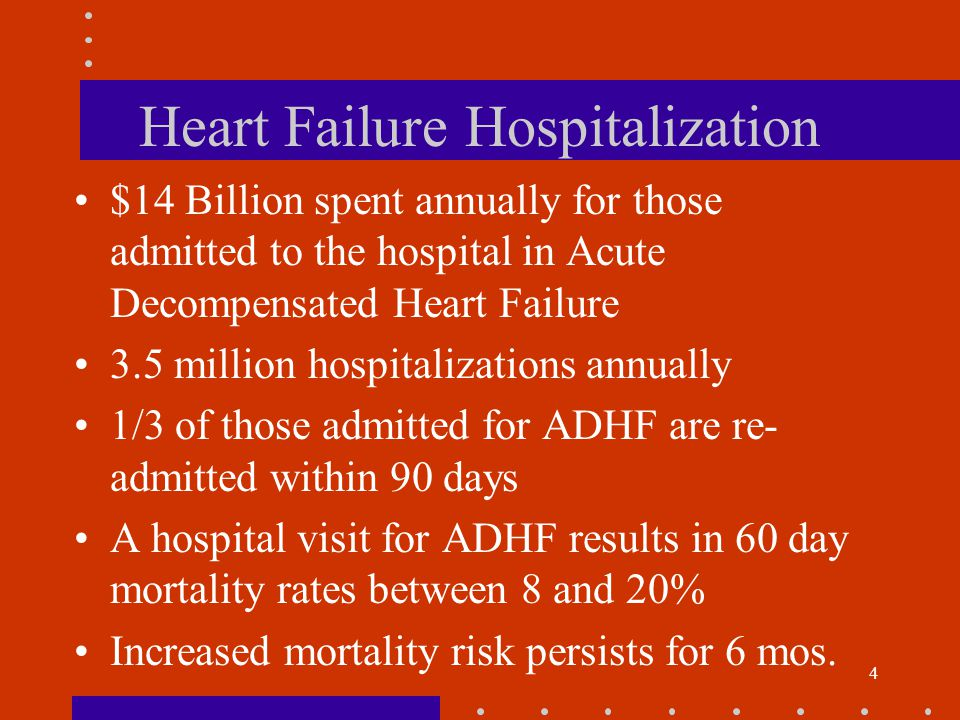 15 Clinical Classifications Heart Failure is a Progressive Disorder ACC/AHA Stages of HF Stage A--Presence of risk factors for heart failure Stage B--Presence of structural heart disease but no Symptoms Stage C--Presence of structural heart disease along with signs and symptoms Stage D--Presence of structural heart diseases and advanced signs and symptoms