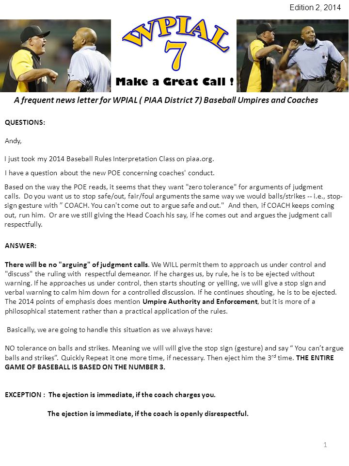 Make a Great Call .