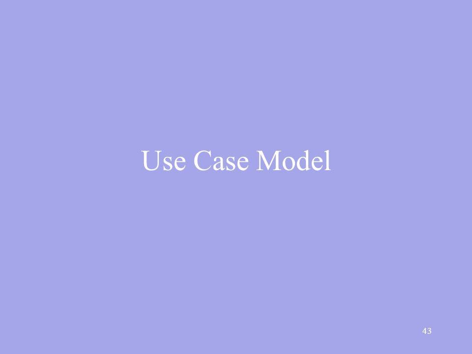 43 Use Case Model