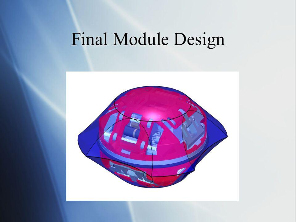 Final Module Design