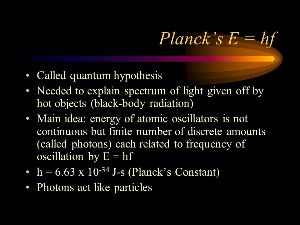 Finding Photon Energy What is the energy of a photon of blue light with = 450 nm .