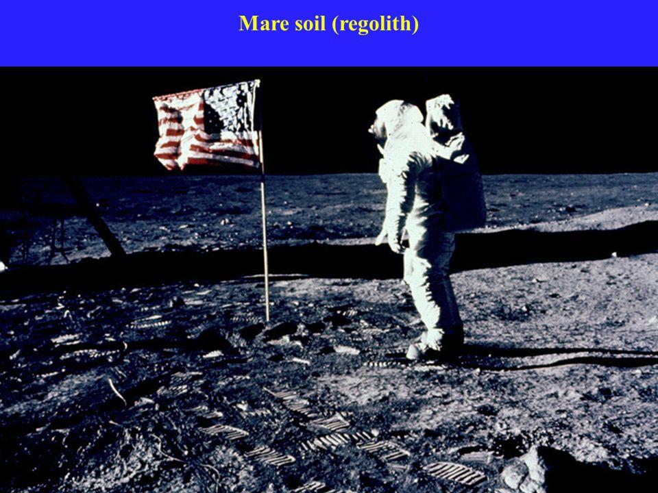Mare soil (regolith)