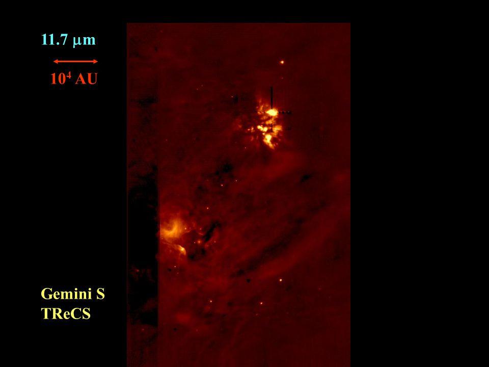 11.7  m Gemini S TReCS 10 4 AU