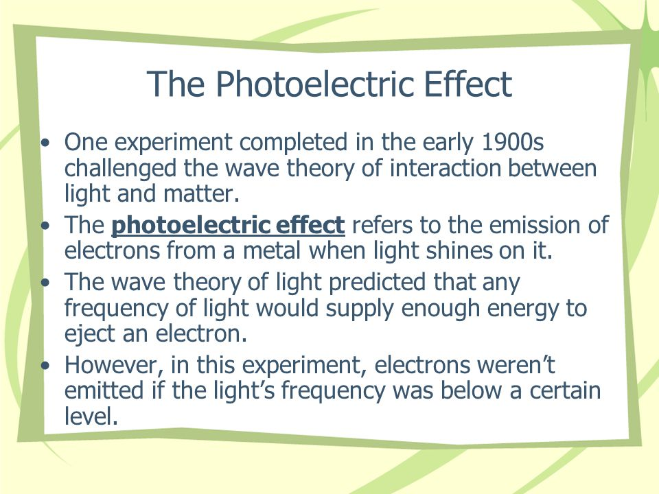Particle Description of Light Max Planck- a German physicist who studied the emission of light from hot objects Hot objects do not continuously emit electromagnetic radiation, as they would if they were in the form of waves.